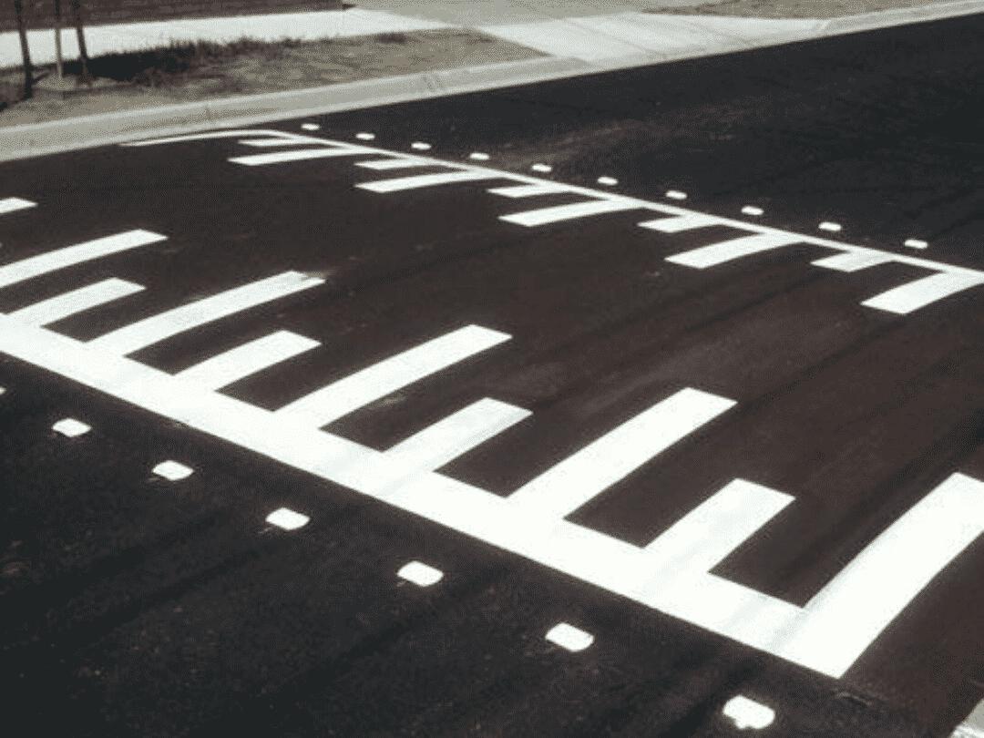 סימון כבישים בשטחים