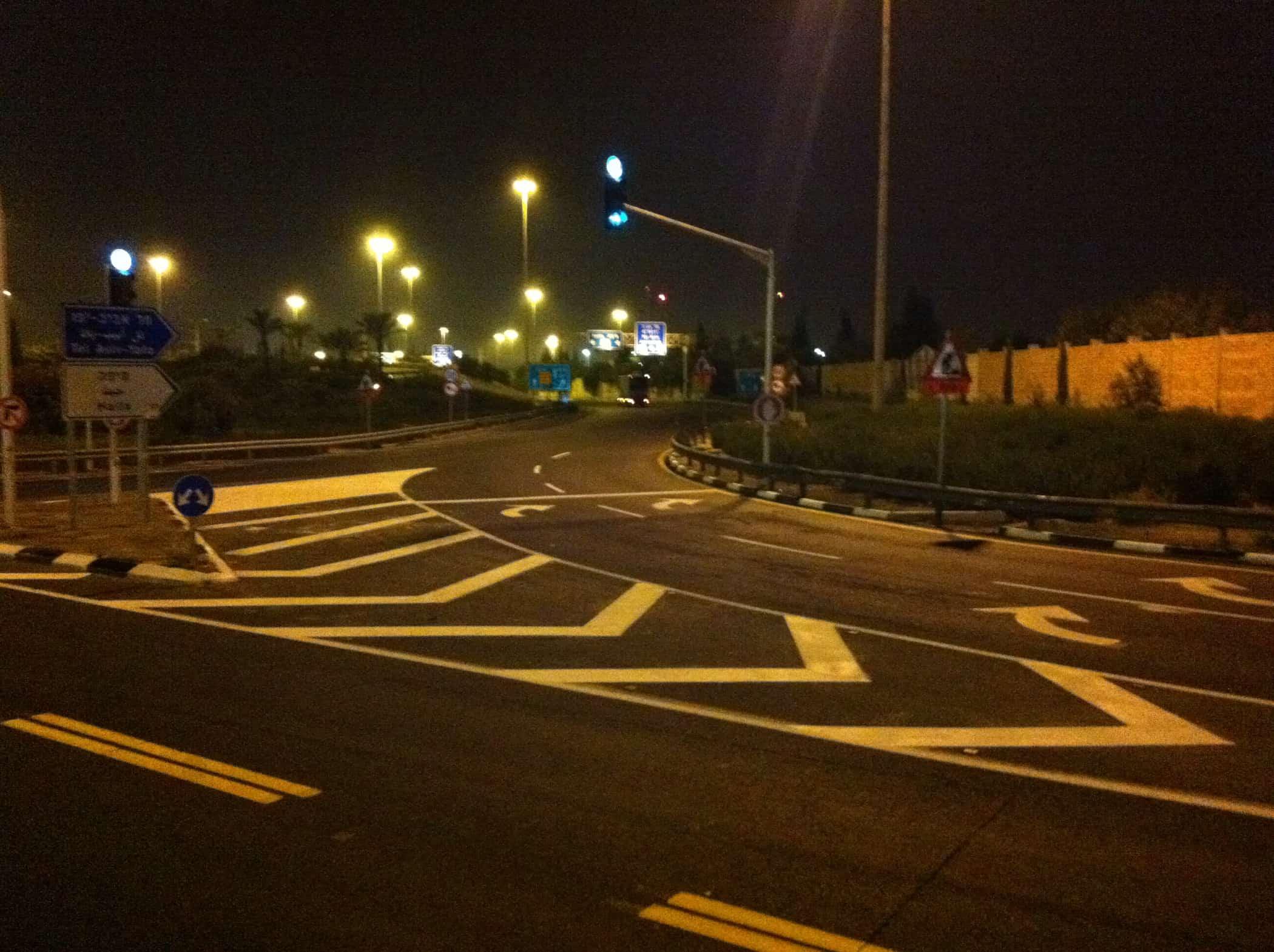 צביעת כבישים – אמצעי בטיחות