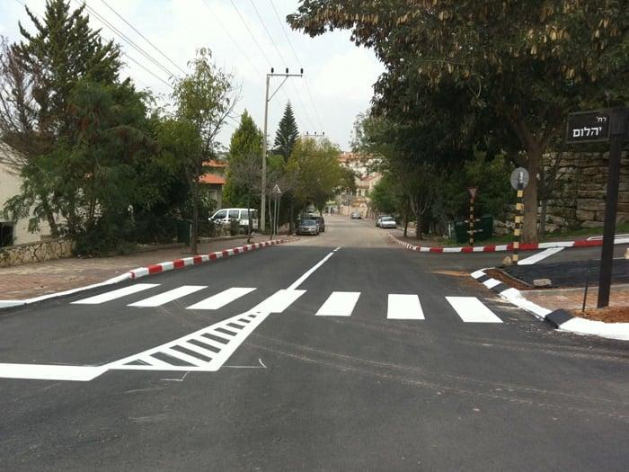 צביעת כבישים - הסטנדרטים של היום