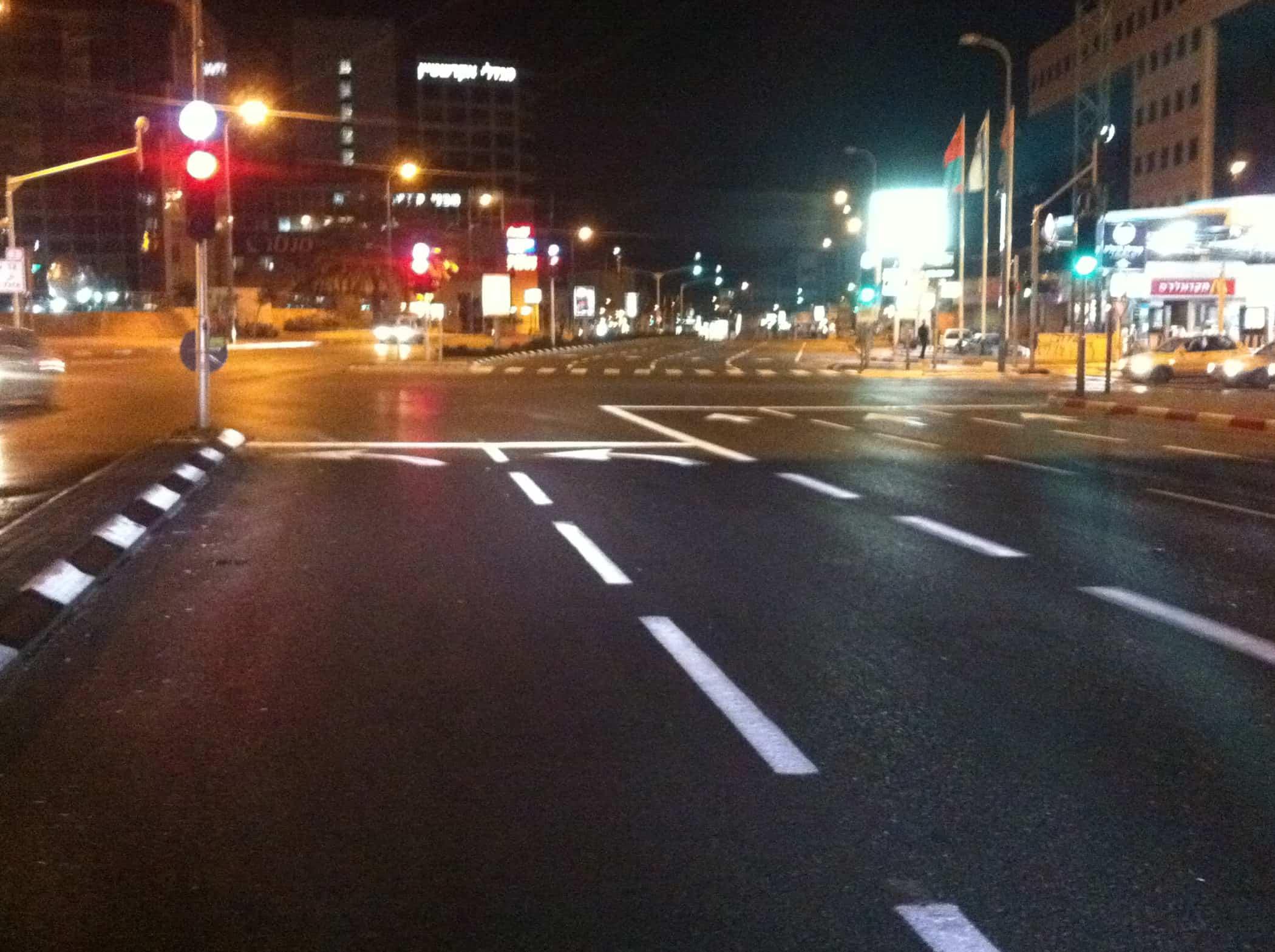 צביעת כבישים